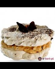 TORT BEZOWY - DAKTYL I ORZECH W KAJMAKU