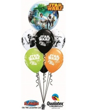 BALONY Z HELEM STAR WARS