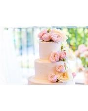Tort weselny glamour — propozycje na każdą kieszeń!